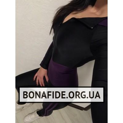 Комбинезон ArcanaSyndicate (Violet) из бифлекса