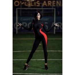 Комбинезон Elite Body (Black&Red)