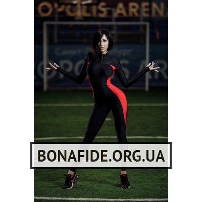 Комбинезон Elite Body (Black&Red)