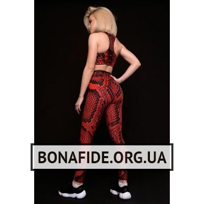Лосины Bona Classic Cobra (Red)