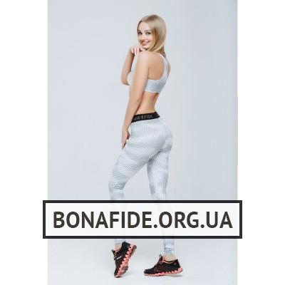 Лосины Bona GoldStandart (White Grid)