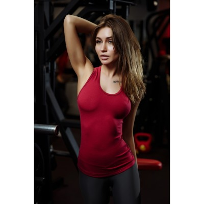 Майка Better Bodies (Persian Red Melanje)