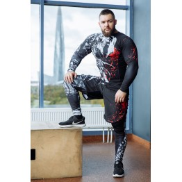 Лосины DICH FightShorts (Hell Demon)
