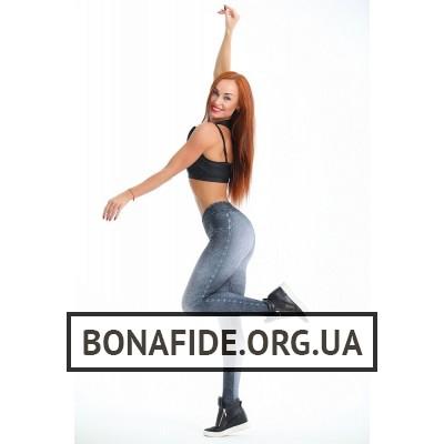 Лосины Bona Classic (Black Jeans)