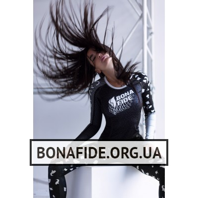 Рашгард Bona Fide Rashguard Round Run Like Gepard (Gray)