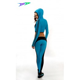 Лосины DjenDance Power Splash (Blue)