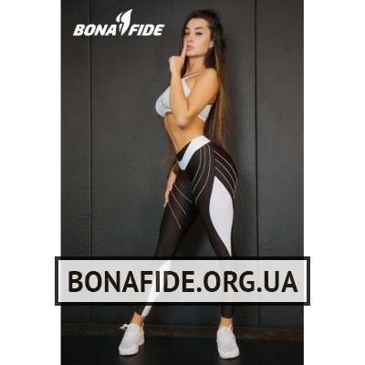 Лосины Bona Fide FuckNike (Total Brown & White)