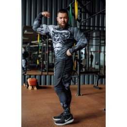 Лосины DICH FightShorts (Monkey Business)