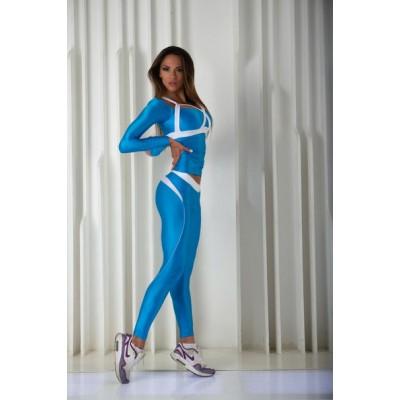 Рашгард X-Bona (Blue & White)