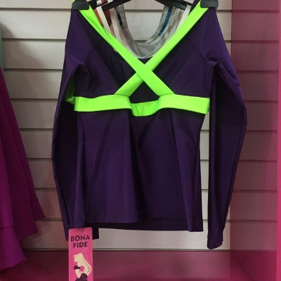 Рашгард X-Bona (Violet & Green)